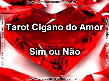 Tarot cigano do amor Sim ou Não